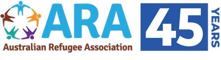 ara logo 45 years