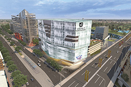 Building design for the new UniSA Centre for Cancer Biology on North Terrace