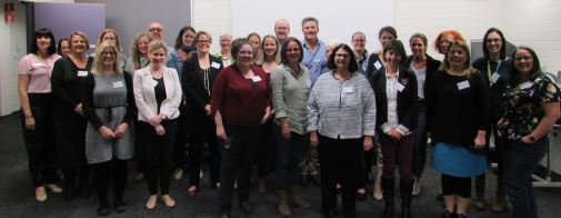 Conference delegates from rural communities, departments of health, primary industries and suicide prevention, agricultural industries, councils, organisations for suicide prevention and universities across Australia