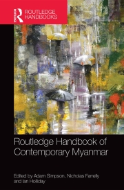 Routledge Handbook of Contemporary Myanmar