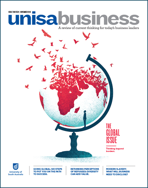 unisabusiness Magazine Cover