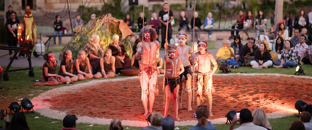 Tindo Utpumde Sunset Ceremony at Adelaide Fringe