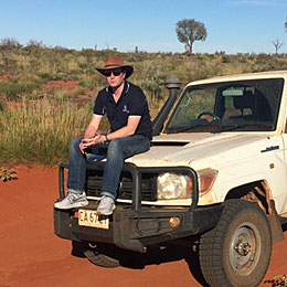 The hard working Land Cruiser Ute