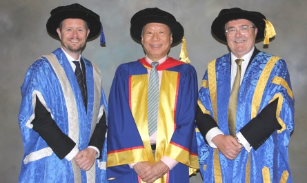 Honorary Doctor Curtis Wong