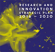 Research and Innovation Strategic Plan 2016-2010 cover