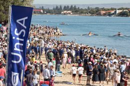 Crowd at West Lakes for last year's Head of the River