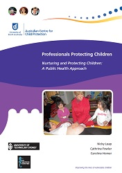 Nurturing and Protecting Children - A Public Health Approach front cover