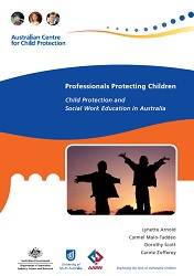 Child Protection and Social Work Education front cover