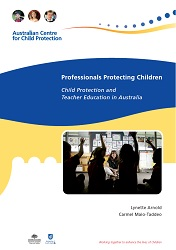 Child Protection and Teacher Education in Australia front cover