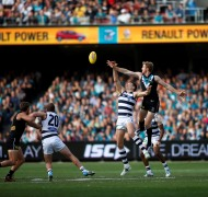 Port Adelaide Football Club match in action