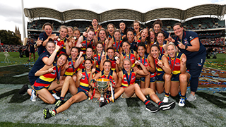 Adelaide Crows AFLW Team