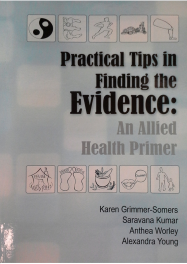 Image of front cover- practical tips for finding the evidence