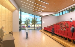 artists impression civic lecture gallery