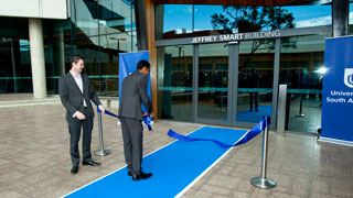 Opening the Jeffrey Smart Building