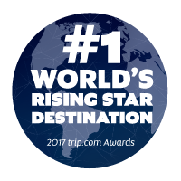 number 1 worlds rising star destination