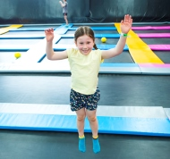 Kids enjoying physical play at Bounce Adelaide