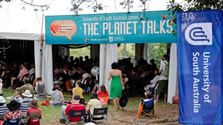 Planet Talks at WOMADelaide.