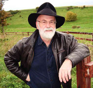 International best-selling author the late Sir Terry Pratchett