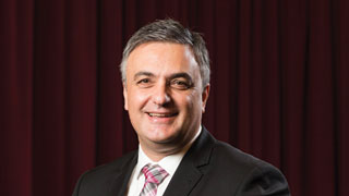 Managing Director of the Adelaide Symphony Orchestra, Vincent Ciccarello.