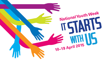 National Youth Week banner