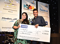 Young Achiever Multicultural Youth South Australia (MYSA) Spirit of Resilience Award, Aref Ahmadi