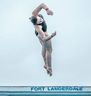 Jocelyn Burnett diving