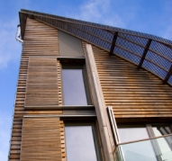 Timber-framed environmentally friendly building