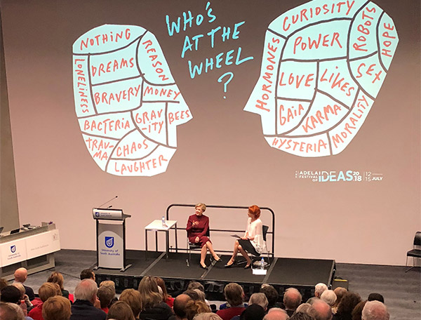 Adelaide Festival of Ideas in Allan Scott Auditorium