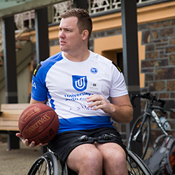 Brendan Hardman, Participant, Invictus Pathways Program