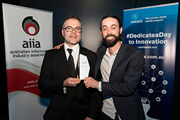 AIIA iAwards presentation