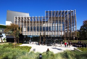 View of the new mateerials and minerasls science building at Mawson Lakes campus