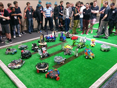 Robotic entries in the National Instruments Autonomous Robotics Competition