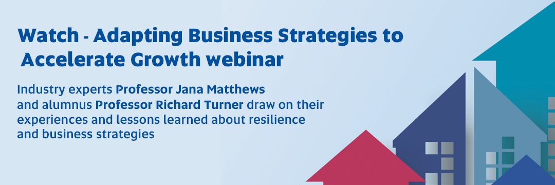 Watch - Adapting Business Strategies to Accelerate Growth webinar