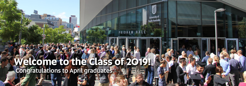 Welcome to the Class of 2019! Congratulations to April graduates