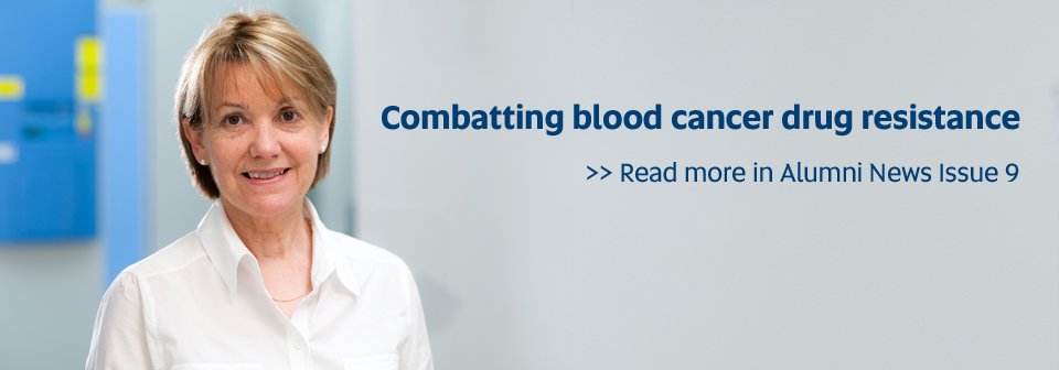 Combatting blood cancer drug resistance - Read more in Alumni News Issue 9
