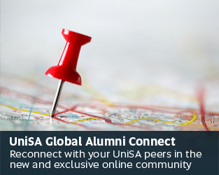 UniSA Global Alumni Connect - Reconnect with your UniSA peers in the new and exclusive online community