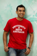 UniSA red tshirt