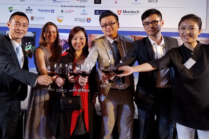 Alumni at the Australia China Alumni Awards Presentation Dinner