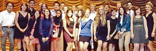 2013 participants of UniSA Global Experience Professional Development course with  Malaysia Chapter members