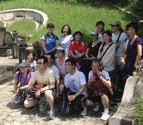 Singapore alumni on Bukit Brown Cemetery Bush Walk