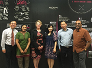 Dr Collette Snowden (centre) and Singapore Alumni Chapter President Sherina Ng with some of the seminar participants