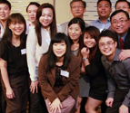 Singapore Chapter President, Sherina Ng, with Singapore Chapter members at 2013 annual reunion