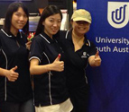 University of South Australia Singapore Chapter alumni at annual bowling event