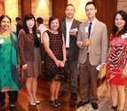 Singore Alumni Chapter members gathered at annual reunion dinner