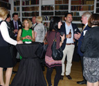 UniSA alumni at the UK alumni cocktail reception