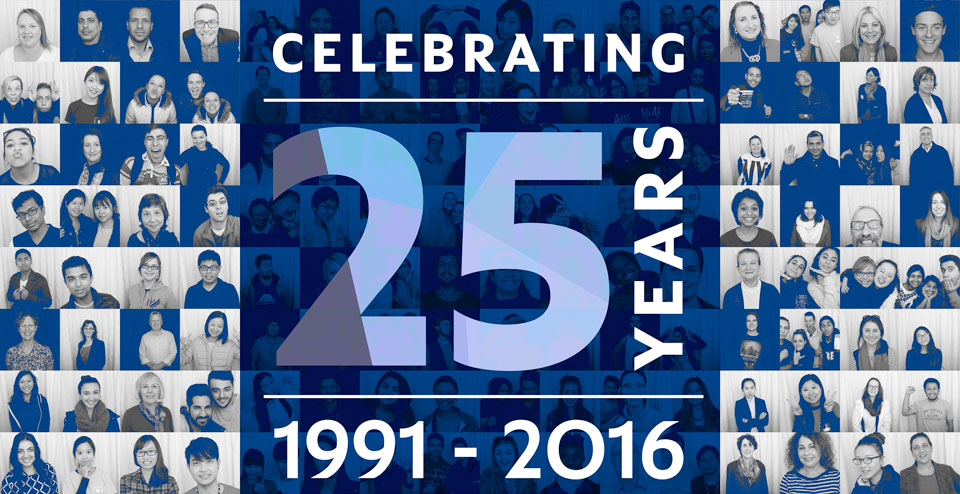 UniSA's 25th Birthday Banner