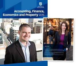 View Accounting, Finance, Economics and Property brochure