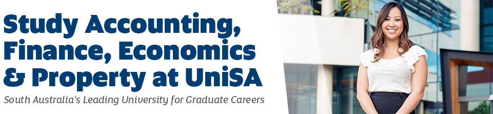 Study Accounting, Finance, Economics and Property at UniSA
