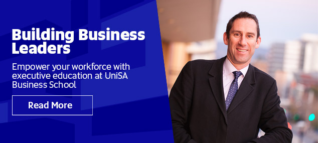 Empower your workforce with executive education at UniSA Business School