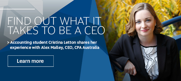 Cristina Letton, 2015 winner, CEO for a day competition